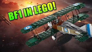 Battlefield 1 In Lego! Sopwith Camel Fighter Plane 10226 Review