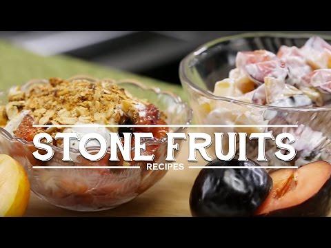 Unpredicted Stone Fruit Salad
