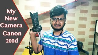 Canon 200d Unboxing & Price In Pakistan | My New Camera!