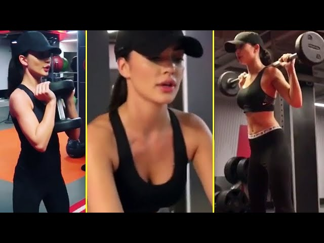 amy jackson workout || amy jackson workout videos  || amy jackson workout in gym | hot amy jackson