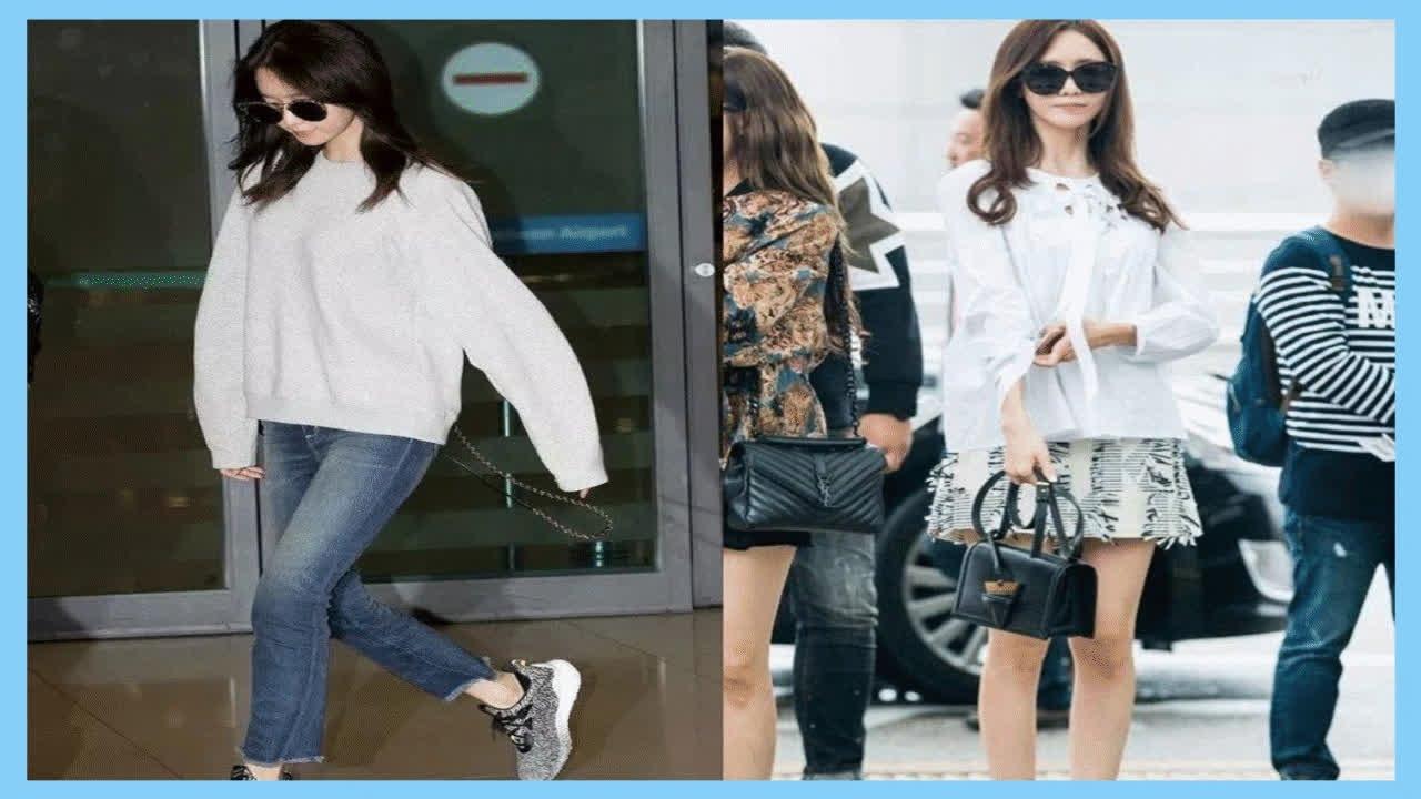 韓國超會穿搭的女星,林允兒衣品好,Jennie超吸睛,金雪炫身材贊 - YouTube