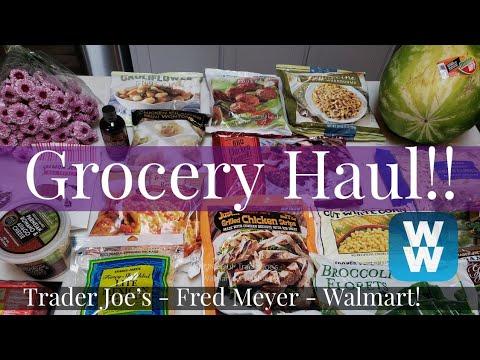 weekly-ww-grocery-haul-&-meal-plan- -trader-joe's- -walmart-&-fred-meyer- -weight-watchers!!