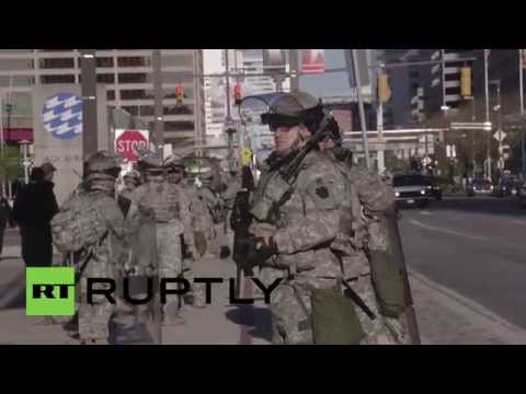 USA: National Guard deployed in Baltimore as Freddie Gray protests mount