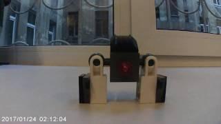 Постройки из LEGO. Боевой робот. часть-1