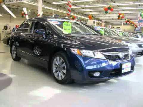 Used Honda Civic Sedan Long Island 2009 Located In NY At Huntington Honda
