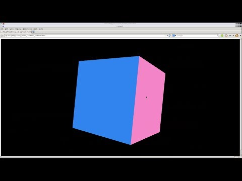 Basic Trackball Camera Controls with Threejs HTML5 3D Rotation Tutorial