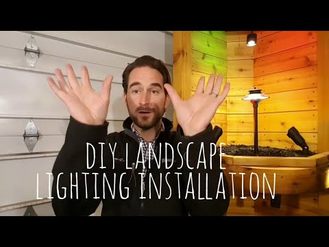 Landscape Lighting Installation Complete DIY Tutorial