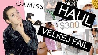 HAUL ZA $300 | Jeden velký propadák | GAMISS