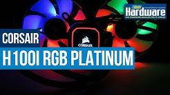 Corsair H100i RGB Platinum | Wasserkühlung mit Passiv-Modus und RGB