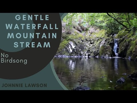 Relaxing Nature Sounds With Soothing Waterfall Sound-Sleeping Relaxation-Natural Water Sleep Sounds