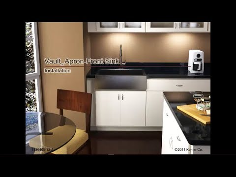How To Install A Kohler Stainless Steel Kitchen Sink