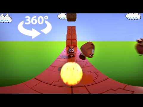 Super Mario Bros VR 360 (NES): Level 1-1
