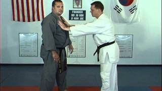 Hapkido Pushing Chest Techniques 1 thru 3