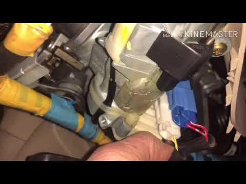 Виста Ардео как снять торпеду и печку,ремонт печки.