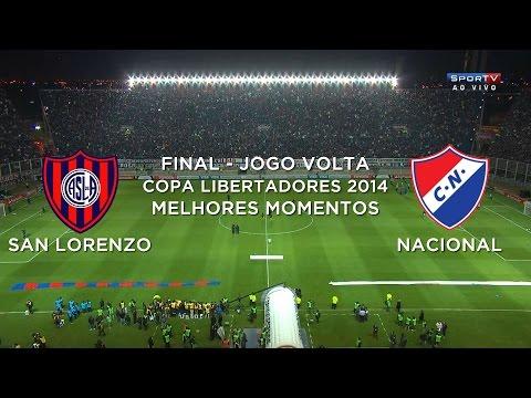 Melhores Momentos - San Lorenzo (ARG) 1 x 0 Nacional (PAR) - Libertadores 2014 - 13/08/2014