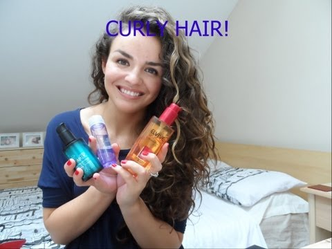My Top Styling Products For Curly Hair