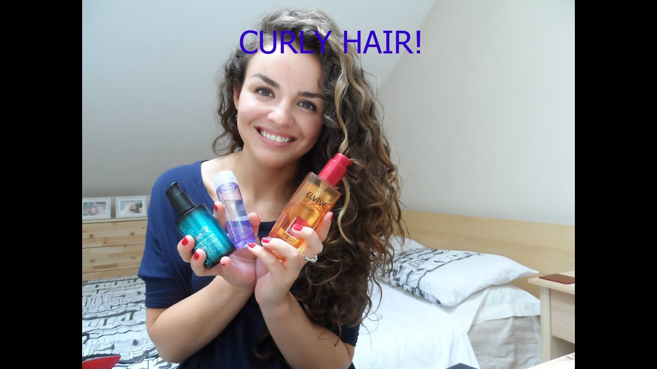 Hair Styling Products For Long Hair My Top Styling Products For Curly Hair  Youtube