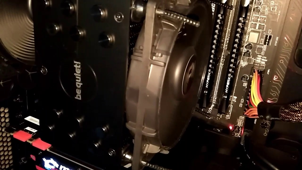 Buzzing noise from power supply