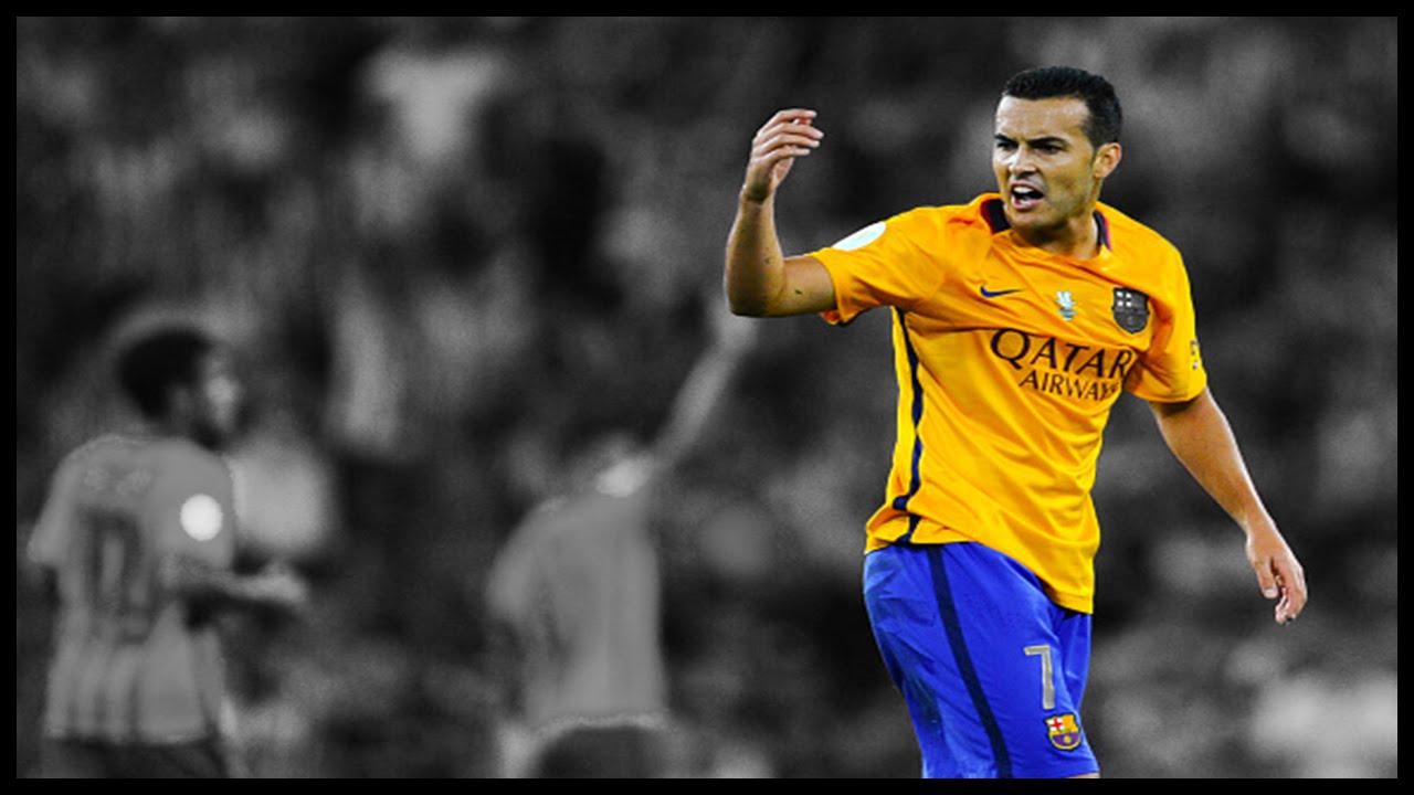 Pedro Rodriguez - All Goals In Finals FC Barcelona
