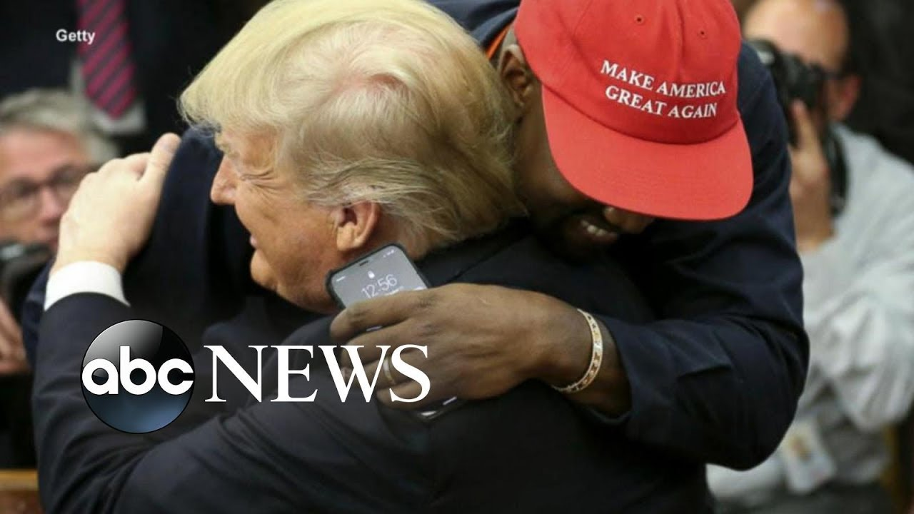 Image result for Kanye West hugged Trump