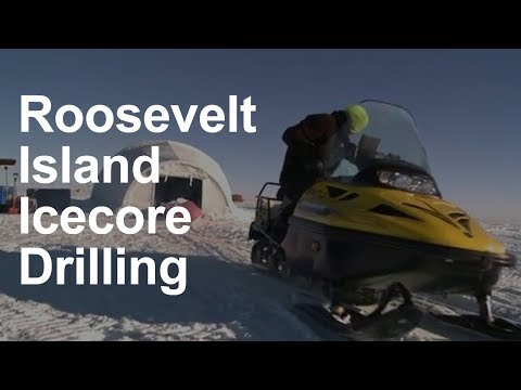 Roosevelt Island Ice Core Drilling