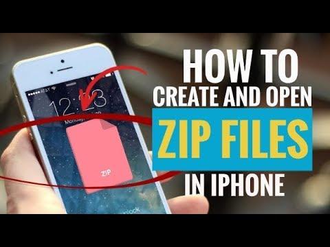 Вопрос: Как открыть ZIP файл на iPhone?