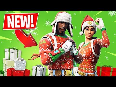 Christmas Skins & Season 7 Gameplay!! *Pro Fortnite Player* // 1,700 Wins // Fortnite Live Gameplay thumbnail