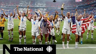 Women's soccer teams fight for equal pay