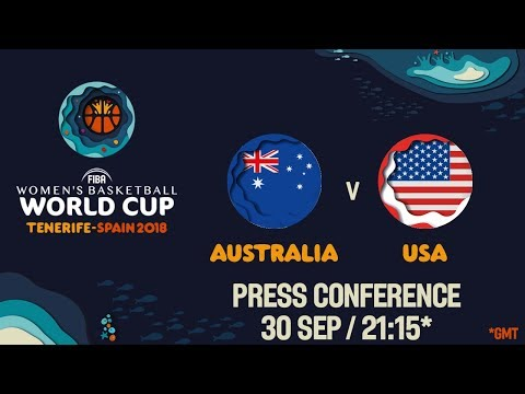 Press Conference - Australia v USA - Final
