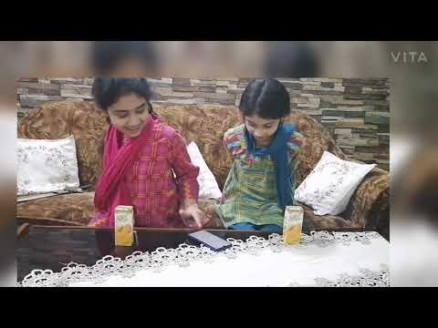 No Hands Eating And 1 Minute Challenge #funny Challenge #fun With Khansa And Shiza