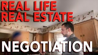 Real life Real Estate Negotiation | Flipping Houses | In The Life 110