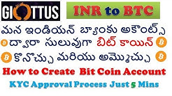BitCoin to INR withdraw telugu | BTC to INR 2020 | BitCoin withdraw to Indian Bank Accounts