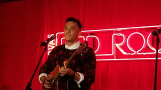 Cyrus Villanueva from X Factor performing Earned It in Nova's Red Room 5.11.15