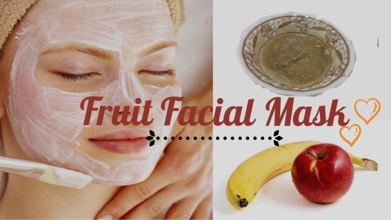 Facial fruit mask