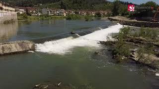 🚀 DRONE - Briglie sull'Arno, un progetto per creare 12 centrali idroelettriche
