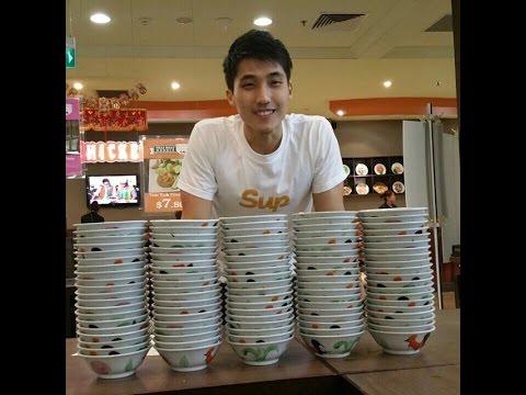 100 Bowls of Thai Boat Noodles Challenge