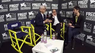 Ryuichi Sakamoto And Stephen Nomura Schible - RYUICHI SAKAMOTO: CODA - 74 Venice Film Festival