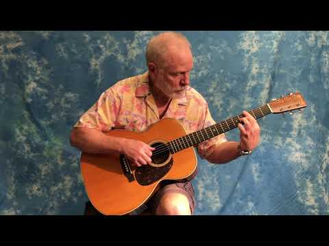 Tom plays 'Dream a Little Dream' on a 1939 Martin Guitar 000-28