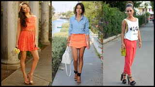 How to Wear Coral - Trendy Color For This Spring