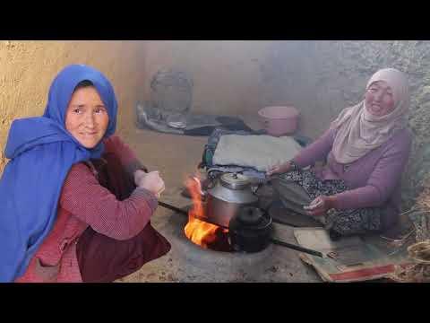دیگ ودیگدان/Afghan Village Food