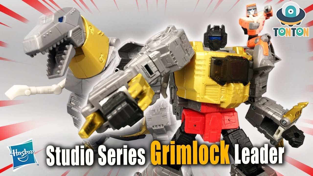 Transformer Studio Series 86 Grimlock In-Hand by TonTon Review