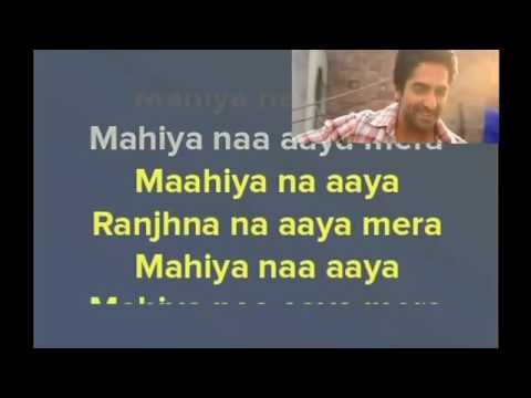 Pani Da Rang - Vicky Donor - Karaoke (with Lyrics and Video)
