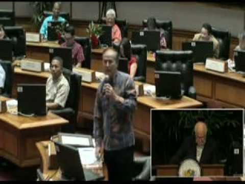 Honoring Yukio Yoshikawa at the Hawaii House of Representatives