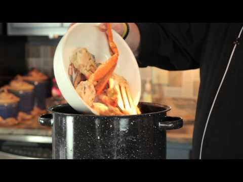 How to cook thawed king crab legs