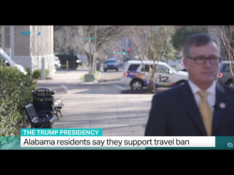 The Trump Presidency: Alabama residents say they support travel ban