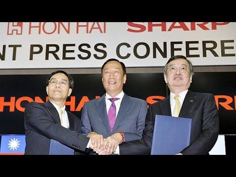 Tayvanlı Foxconn Firması Japon Devi Sharp'ı Satın Aldı