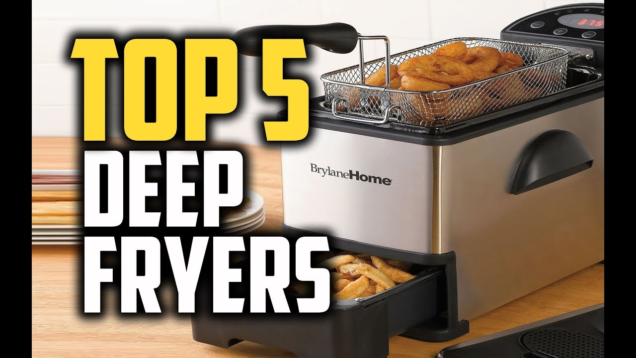 Kitchen Fryer Farmhouse Industrial Best Deep Fryers In 2018 Which Is The Youtube
