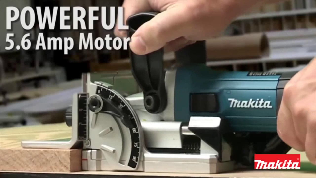 Makita Pj7000 Biscuit Jointer 700w In Carry Case Youtube