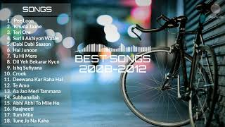 Best Hindi Songs Of 2008 to 2012 Jukebox |2008 to 2012 Best Songs Collection | All Time Hit Songs