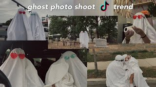 GHOST PHOTOSHOOT TREND FROM TIK TOK